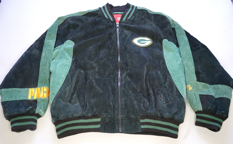 "VINTAGE NFL BOMBER JACKET ""GREENBAY PACKERS"""