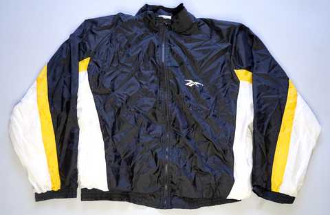 "90'S ERA REEBOK FULL-ZIP WINDBREAKER ""BUMBLEBEE"""