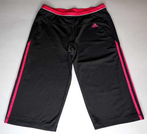 "WOMENS ADIDAS 3/4 TRACK PANT ""PINK PANTHER"""