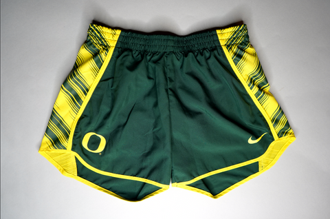 "WOMENS NIKE UNIVERISTY OF OREGON SHORTS "" GO DUCKS"""