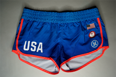 "WOMENS HURLEY SHORTS ""USA OLYMPICS"""