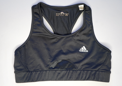 "WOMENS ADIDAS SPORTS BRA ""BLACK IS BACK"""