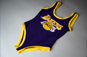 "WOMENS LAKERS SWIMSUIT ""LA LA LAND"""