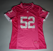 "WOMENS KHALIL MACK JERSEY "" BREAST CANCER AWARENESS"""