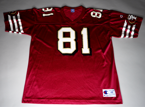 "MENS VINTAGE SAN FRANCISCO 49ERS CHAMPION JERSEY ""TERRELL OWENS"""