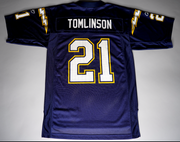 "MENS REEBOK SAN DIEGO CHARGERS THROWBACK JERSEY ""LADAINIAN TOMLINSON"""