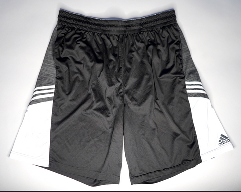 "MENS ADIDAS HOOP SHORTS ""BARE NECESSITIES"""