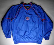 "MENS NIKE FLORIDA GATORS PULLOVER WINDBREAKER ""GATORS"""