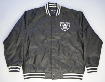 "RAIDERS BOMBER JACKET "" B4 VEGAS"""