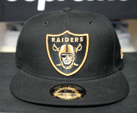"NEW ERA SNAPBACK HAT ""GOLD RAIDERS"""