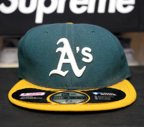 "NEW ERA FITTED CAP "" ATHLETICS"""