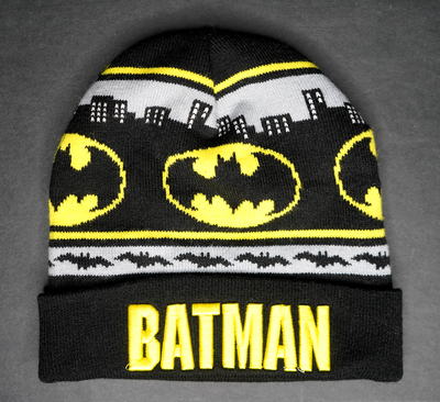 "BATMAN BEANIE ""CAPED CRUSADER"""