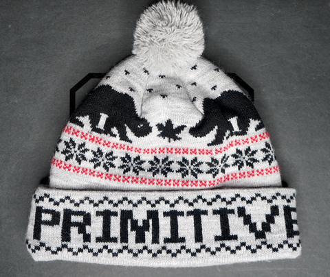 "PRIMITIVE POM BEANIE ""CALIFORNIA BUD"""