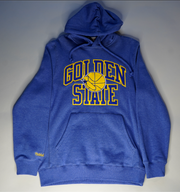 "MITCHELL AND NESS GOLDEN STATE HOODIE ""WARRIORS"""