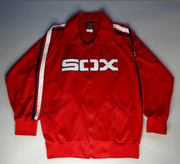 "VINTAGE CHICAGO WHITE SOX TRACK JACKET ""SOX"""