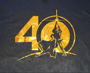 "STAR WARS ANNIVERSARY TEE ""40 POP"""