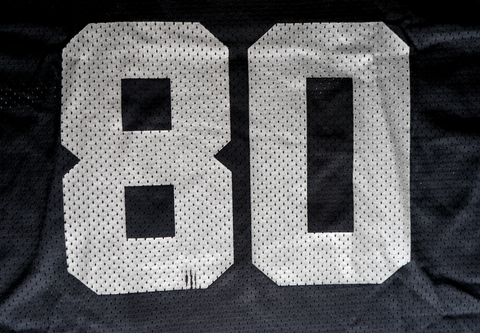 "VINTAGE OAKLAND RAIDERS JERSEY ""JERRY RICE"""