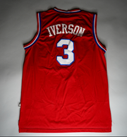 "VINTAGE ALLEN IVERSON JERSEY ""THE QUESTION & ANSWER"""