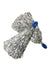 Silver Pom Poms Cheerleader Dance Kids & Adults Costume Accessory