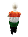 Patriotic Dance Tricolour Jacket Black Trousers Kids Fancy Dress Costume