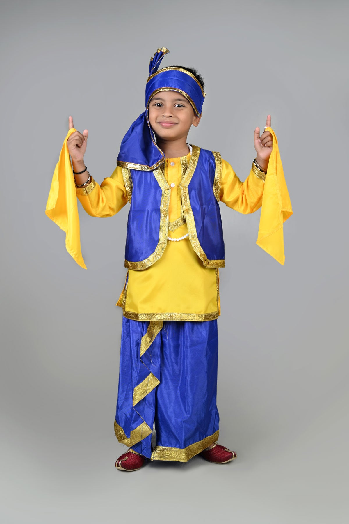6dd68a1fd Rent Buy Punjabi Folk Dance Costume Bhangra for Boys Online in India