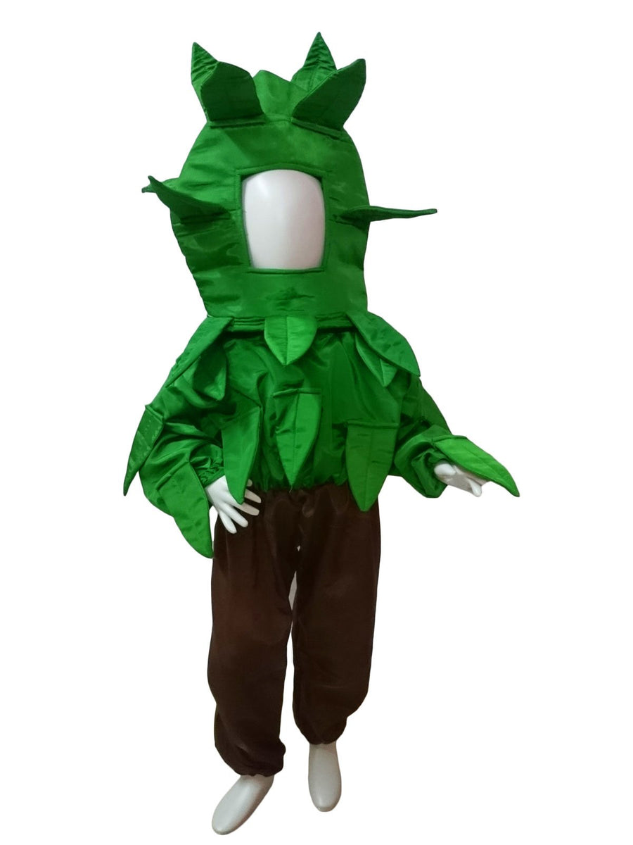 0aded87d6 Yellow. Green Brown Tree Kids Fancy Dress Costume Online in India