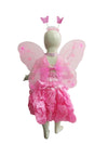 Pink Butterfly Insect Kids Fancy Dress Costume for Girls - Imported
