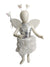 Fairy Angel Girls with White Wings Girls Fancy Dress Costume