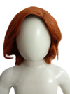 Brown Blonde Color Foreigner Hair Wig for Boys Fancy Dress Costume Accessories