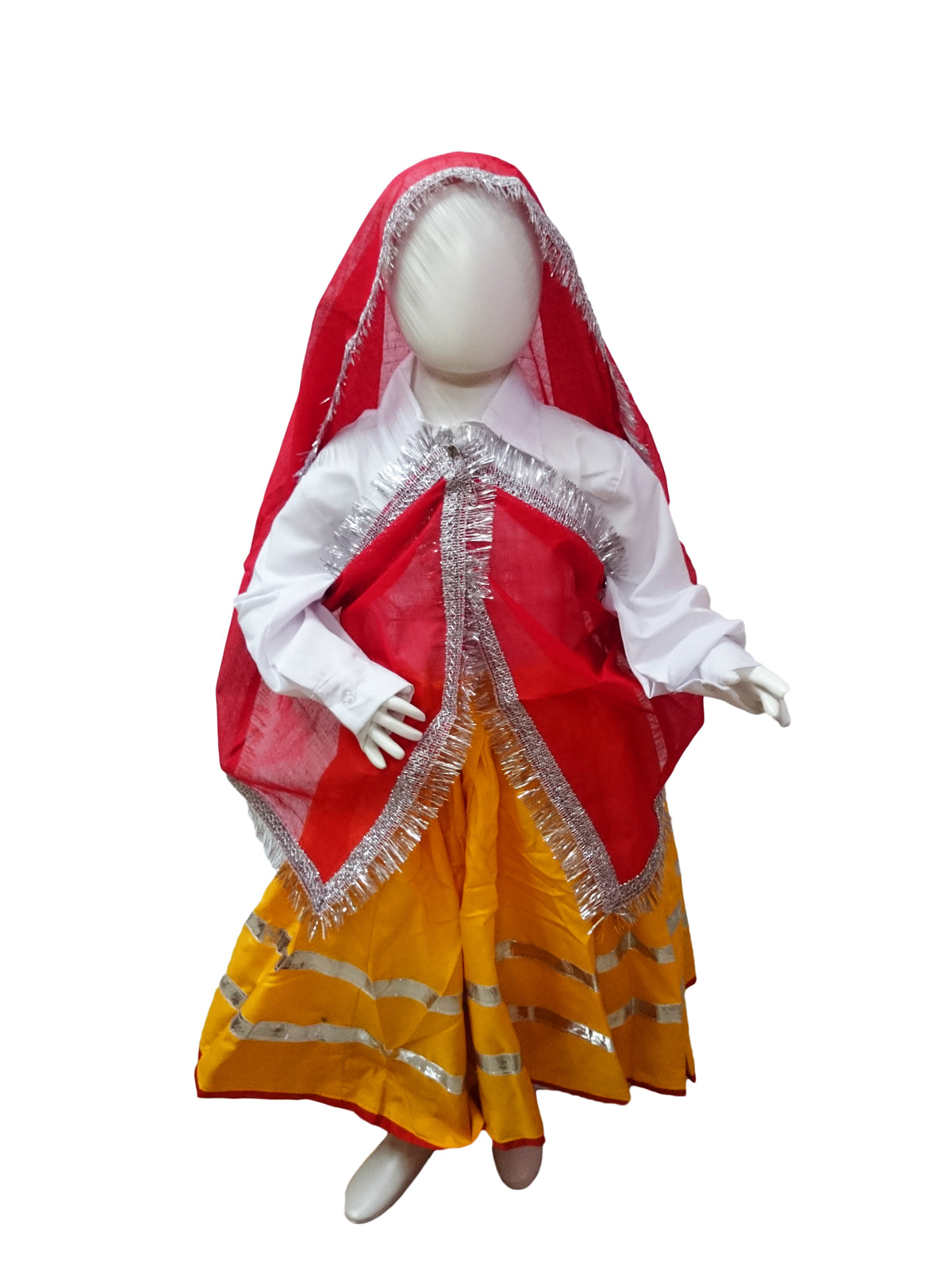 9691d4303 Rent Buy Haryanvi Indian State Thel Costume for Girls Online in India