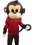 Buy Monkey Cartoon Mascot Costume For Theme Birthday Party & Events | Adults | Full Size