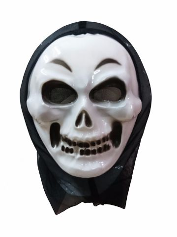 Skeleton Ghost Mask Adult & Kids Fancy Dress Costume Accessory for Halloween