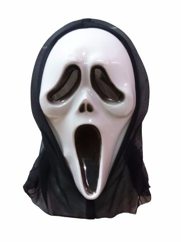 Scream Skeleton Ghost Mask Adult & Kids Fancy Dress Costume Accessory for Halloween