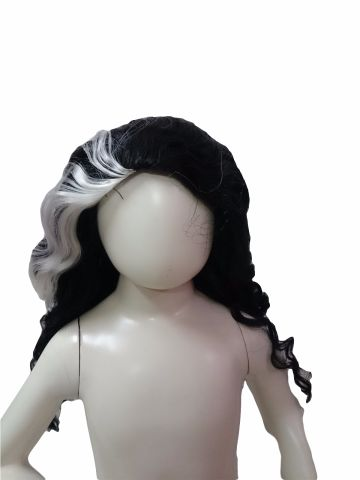 Indira Gandhi Wig for Girls and Women Fancy Dress Costume Accessory