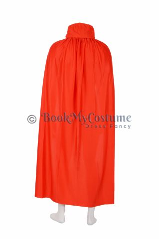 Buy Red Dracula Vampire Cape Cloak Halloween Costume Accessory for Theme Party For Men | Males | Boys | Adults