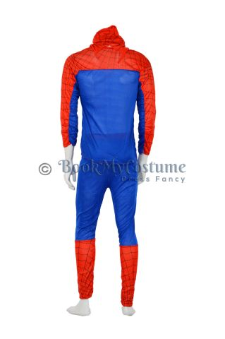 Buy Spiderman Superhero Synthetic Halloween Theme Party Costume for Men | Males | Boys | Adults - Standard