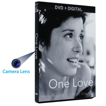 1080p DVD Case Hidden Camera