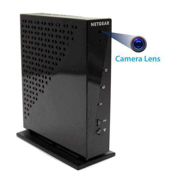 4K Router Hidden Wi-Fi Camera