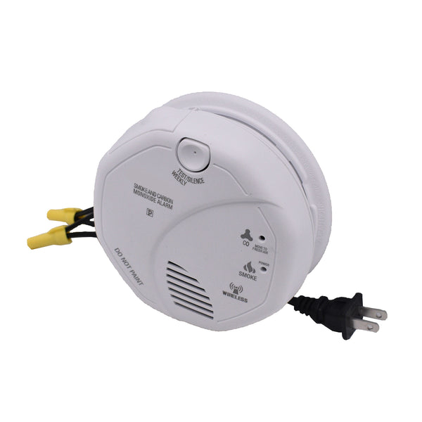 1080p Night-Vision Smoke Detector Hidden Wi-Fi Camera