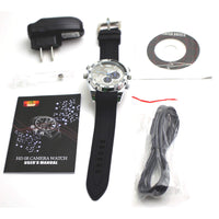 1080p HD Night-Vision Spy Watch