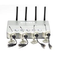 4-Camera Wireless Monitoring System