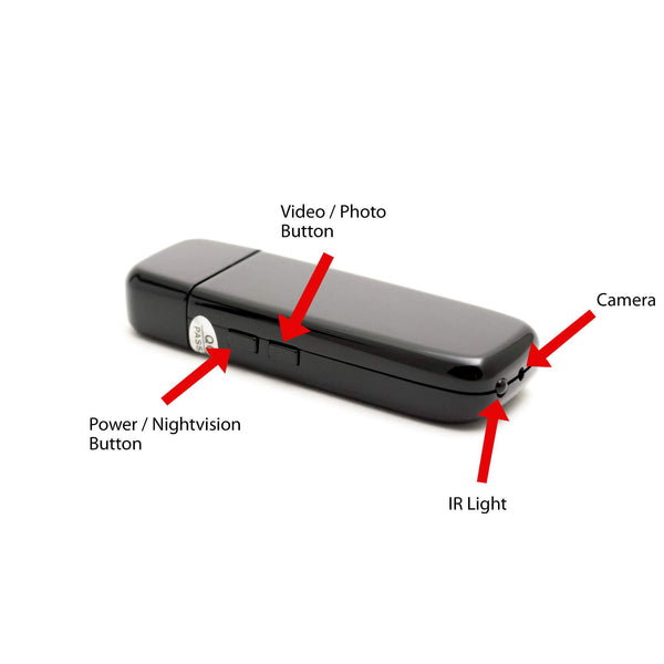 USB Camstick with Night Vision