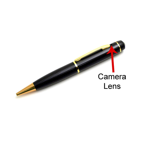 Video and Audio Pen with 720p Hidden Camera - FlexiSPY Spy Shop
