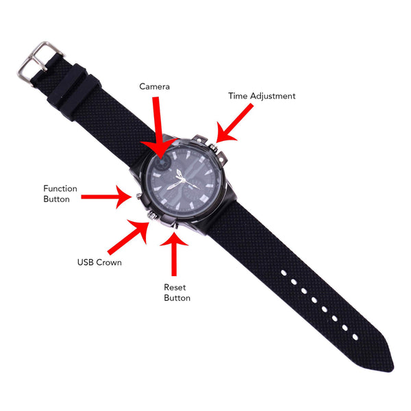 2K Ultra-HD Spy Watch