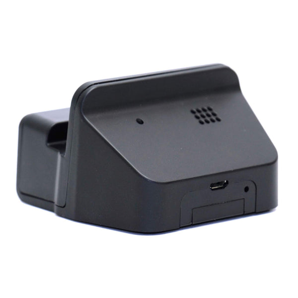 Micro-USB Charging Dock with 1080p Hidden Wi-Fi Camera