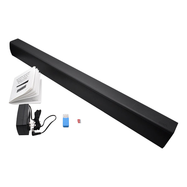 1080p Night-Vision Soundbar Hidden Wi-Fi Camera
