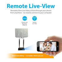1080p Lamp Hidden Wi-Fi Camera