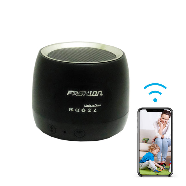Bluetooth Speaker with 1080p Hidden Wi-Fi Camera