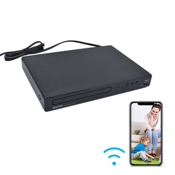 4K Blu-Ray Player Hidden Wi-Fi Camera
