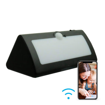 1080p LED Solar Panel Hidden Wi-Fi Camera